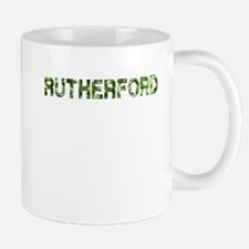 Rutherford, Vintage Camo, Mug