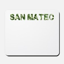 San Mateo, Vintage Camo, Mousepad