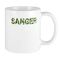Sanger, Vintage Camo, Mug
