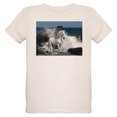 Ocean Stallion Organic Kids T-Shirt