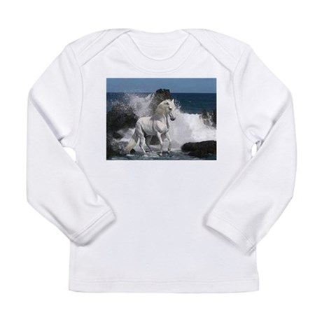 Ocean Stallion Long Sleeve Infant T-Shirt