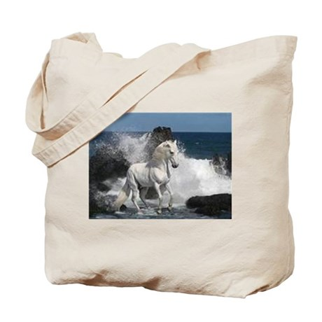 Ocean Stallion Tote Bag