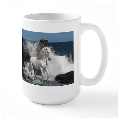 Ocean Stallion Large Mug