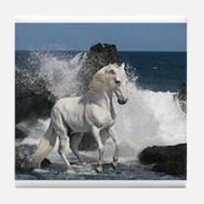 Ocean Stallion Tile Coaster