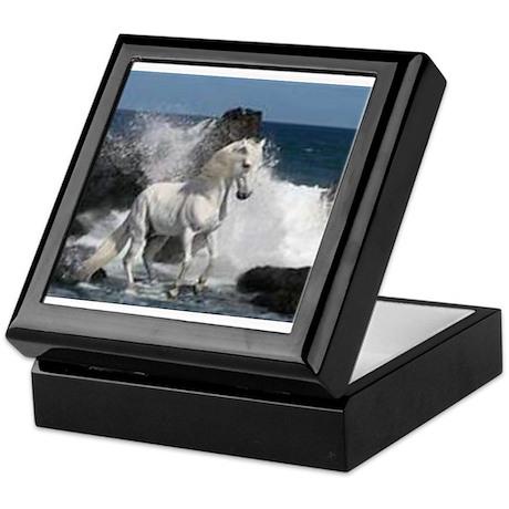 Ocean Stallion Keepsake Box