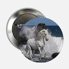 "Ocean Stallion 2.25"" Button"