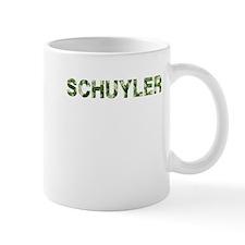 Schuyler, Vintage Camo, Small Mug