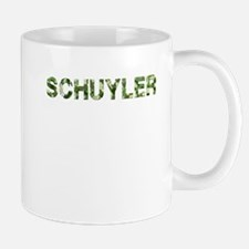 Schuyler, Vintage Camo, Small Small Mug