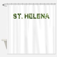 St. Helena, Vintage Camo, Shower Curtain
