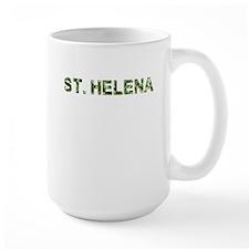 St. Helena, Vintage Camo, Mug