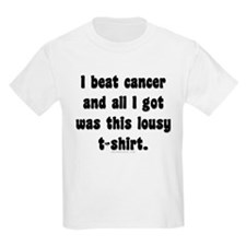 beat cancer Kids T-Shirt