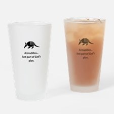 Armadillos...just part of God's plan Drinking Glas