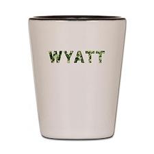 Wyatt, Vintage Camo, Shot Glass
