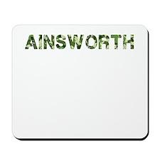 Ainsworth, Vintage Camo, Mousepad