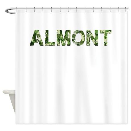 Almont, Vintage Camo, Shower Curtain
