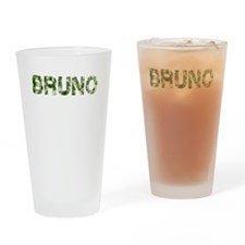 Bruno, Vintage Camo, Drinking Glass
