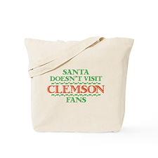 Santa Doesn't Visit Clemson Fans Tote Bag