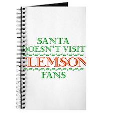 Santa Doesn't Visit Clemson Fans Journal