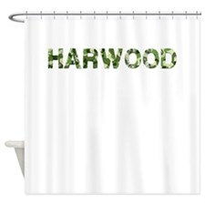 Harwood, Vintage Camo, Shower Curtain