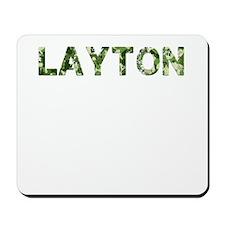Layton, Vintage Camo, Mousepad
