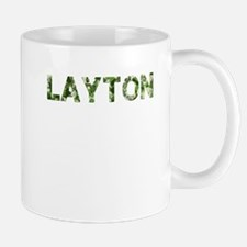 Layton, Vintage Camo, Mug