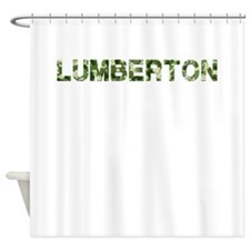 Lumberton, Vintage Camo, Shower Curtain