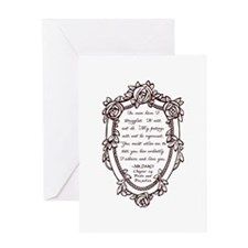 Mr Darcys Proposal Greeting Card