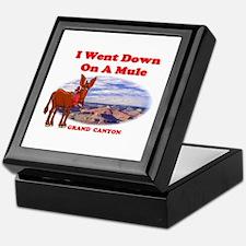 Grand Canyon Mule Keepsake Box