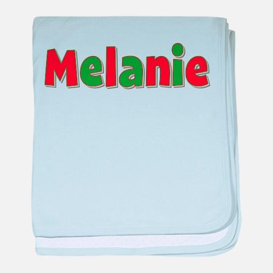 Melanie Christmas baby blanket