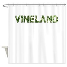 Vineland, Vintage Camo, Shower Curtain