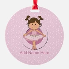 personalized ballet Ornament