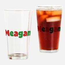 Meagan Christmas Drinking Glass