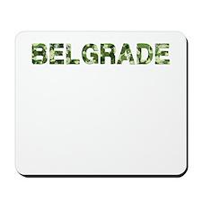 Belgrade, Vintage Camo, Mousepad