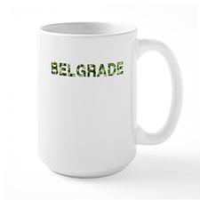 Belgrade, Vintage Camo, Mug