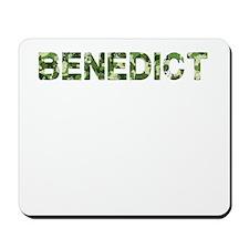 Benedict, Vintage Camo, Mousepad