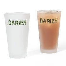 Darien, Vintage Camo, Drinking Glass
