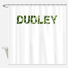 Dudley, Vintage Camo, Shower Curtain