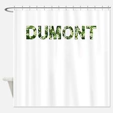 Dumont, Vintage Camo, Shower Curtain