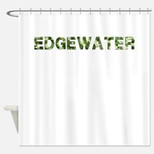 Edgewater, Vintage Camo, Shower Curtain