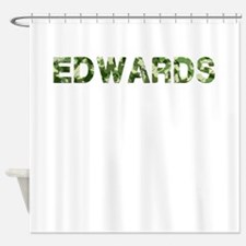 Edwards, Vintage Camo, Shower Curtain