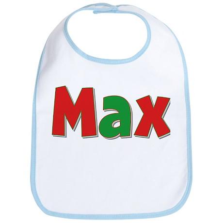 Max Christmas Bib
