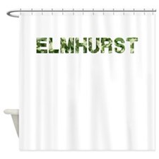 Elmhurst, Vintage Camo, Shower Curtain