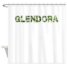 Glendora, Vintage Camo, Shower Curtain