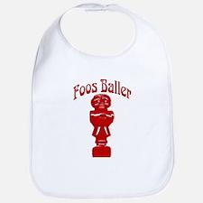 Foos Baller Bib