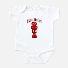 Foos Baller Infant Bodysuit