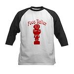 Foos Baller Kids Baseball Jersey