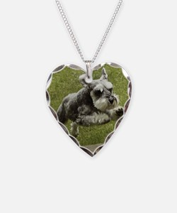 Cute Dog breed Necklace Heart Charm