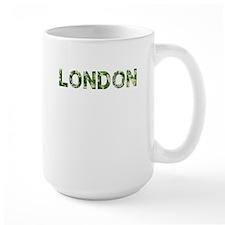 London, Vintage Camo, Mug
