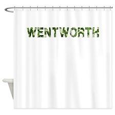 Wentworth, Vintage Camo, Shower Curtain
