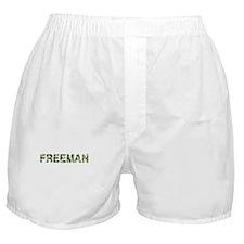 Freeman, Vintage Camo, Boxer Shorts